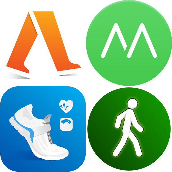 4 Free Android apps (Pacer, Noom, Moves, and Accupedo) and reviewed for accuracy, reliability, and usability.