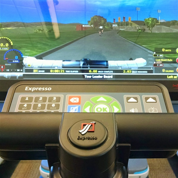 Bike Machine with games by Expresso.