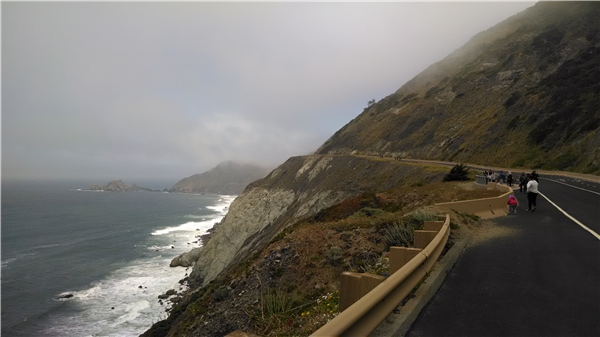 Hike the new devils slide trail. The trailhead is between Half Moon Bay and Pacifica.