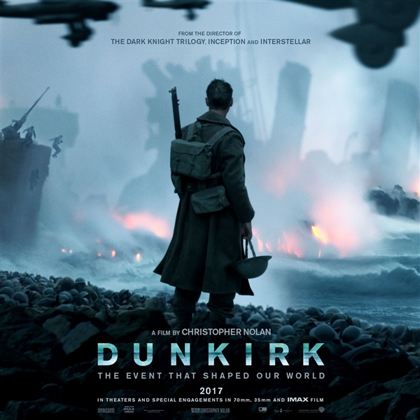 The movie Dunkirk, of helping allied troops escape from the beaches surrounded by German forces during World War 2.