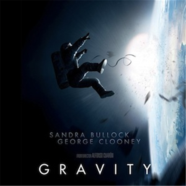 Movie poster for Gravity.