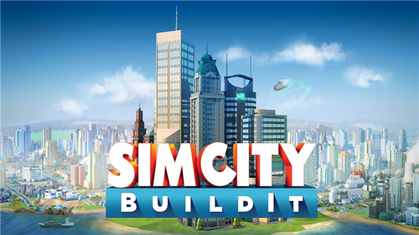 An mobile version of SimCity by EA.
