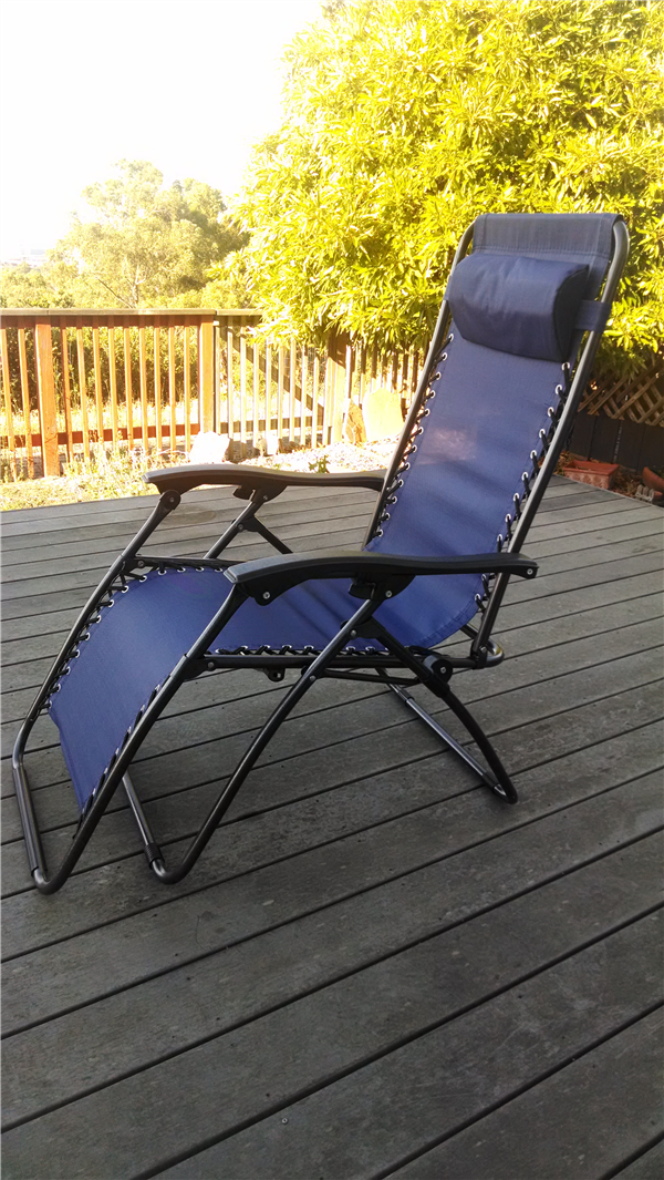 Zero Gravity Lawn Chair   First Impression Review
