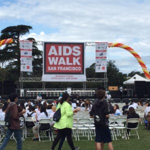 AIDS Walk 2015 in San Francisco