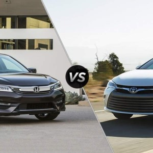 Honda Accord vs Camry Hybrid