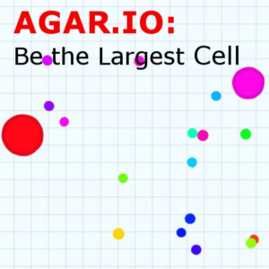Agar.io is a web based, android, iphone, game where your aim is to be the largest cell.