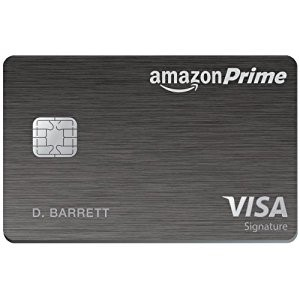 The 5% Cash Back credit card for Amazon Prime members.