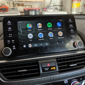 The new 2019 Android Auto update