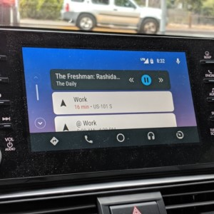 Android Auto in a 2018 Honda Accord