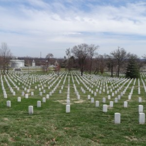 A view of the Arlington Cemetery.