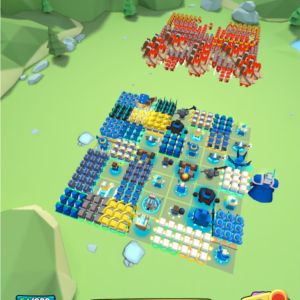 An android game where your troops battle your enemy army.