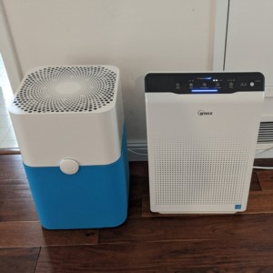 Air purifier comparison between Blue Pure 211+ vs Winix C555.