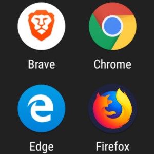 Chrome, Edge, Brave, and Firefox