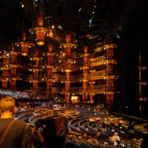 KA's Cirque du Soleil theater in MGM Grand in Las Vegas.