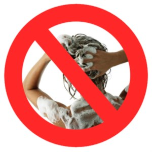 Don't wash your hair daily, it is unnecessary and can be unhealthy.