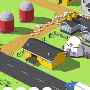 Egg Inc Screenshot, a clicker game for Android.
