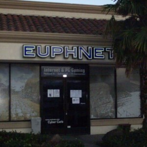Euphnet is an internet cafe in Sunnyvale.