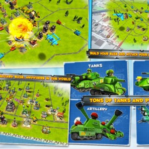 Friendly Fire is a multiplayer android game similar to Clash of Clans.