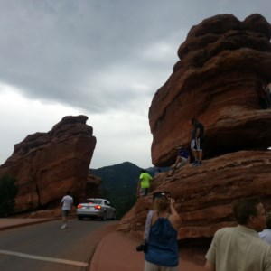 Garden of the Gods Park in Colorado Springs, Colorado.