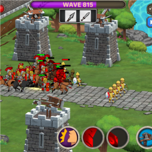 Android strategy app game called Grow Empire Rome.