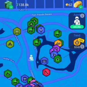 LandlordGO by Reality games is an upgrade from the original Landlord game.