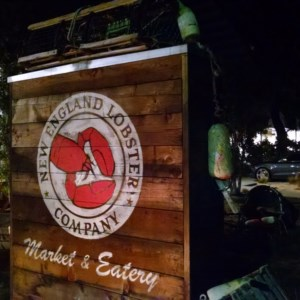 The New England Lobster Company in Burlingame (border of Millbrae) and their eatery.