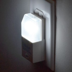 A wall plug in night light.