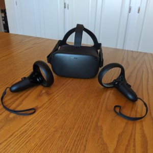 Oculus Quest VR Gaming Console by Facebook.
