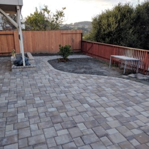 Backyard Patio Pavers Project (SF Bay Area Cost Breakdown ... on Backyard Patio Cost id=73906