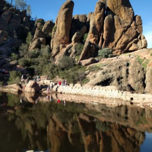 Pinnacles National Park is one of the most recent National Parks in the US.
