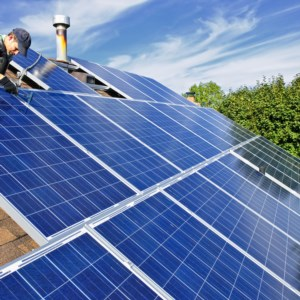 Rooftop Solar Panels to reduce your electric bill and be better for the environment.