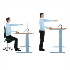 Sit stand desk choices: VertDesk, Uplift 2, Jarvis.