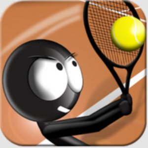 Stickman Tennis, an app for Android and iPhone.