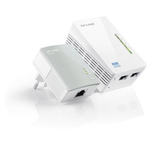 The TP-Link Powerline AV500, the solution to improve wireless range and add ethernet ports.