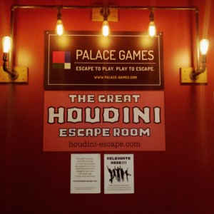 The Great Houdini Escape Room in San Francisco at the Palace of Fine Arts.