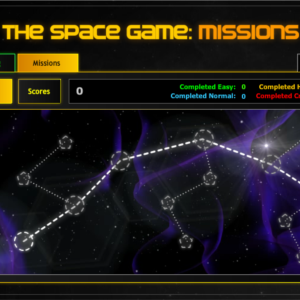 The Space Game Missions is a flash game dominate space.