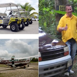 Transporation Options in Belize... William's Belize Shuttle, Air Tropic, Golf Carts.