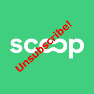 Deactivate text message from Scoop automated system.