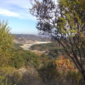 From the Zinfandel Trail, a view of the mines in Cupertino.